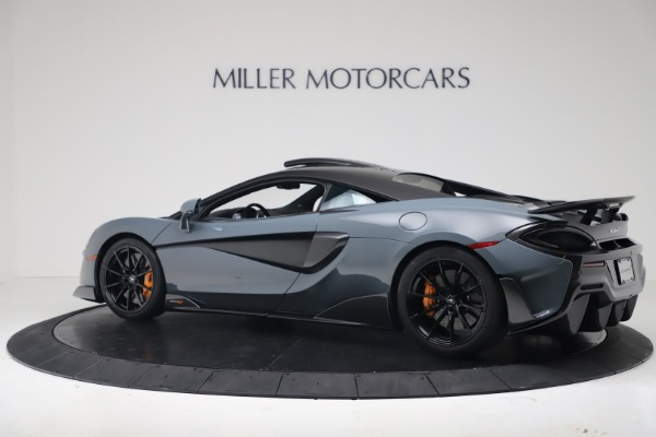 New 2019 McLaren 600LT for sale $311,619 at Aston Martin of Greenwich in Greenwich CT 06830 3