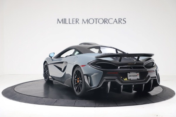 New 2019 McLaren 600LT for sale $311,619 at Aston Martin of Greenwich in Greenwich CT 06830 4