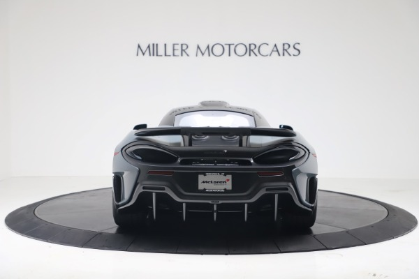 New 2019 McLaren 600LT for sale $311,619 at Aston Martin of Greenwich in Greenwich CT 06830 5