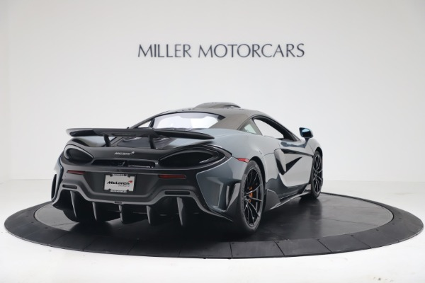 New 2019 McLaren 600LT for sale $311,619 at Aston Martin of Greenwich in Greenwich CT 06830 6