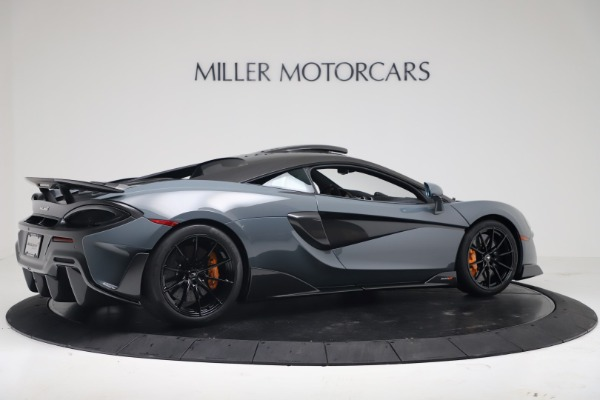 New 2019 McLaren 600LT for sale $311,619 at Aston Martin of Greenwich in Greenwich CT 06830 7