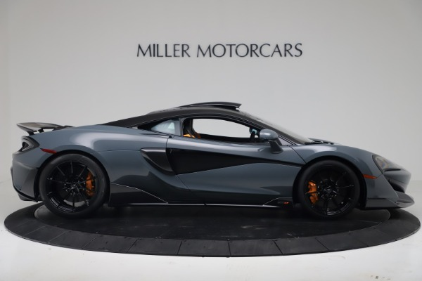 New 2019 McLaren 600LT for sale $311,619 at Aston Martin of Greenwich in Greenwich CT 06830 8