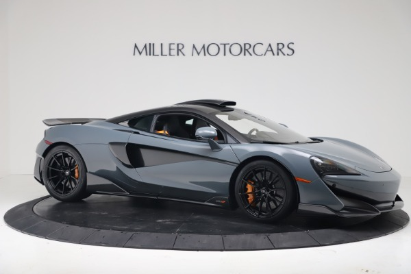 New 2019 McLaren 600LT for sale $311,619 at Aston Martin of Greenwich in Greenwich CT 06830 9