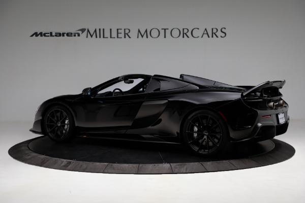 Used 2016 McLaren 675LT Convertible for sale Sold at Aston Martin of Greenwich in Greenwich CT 06830 4