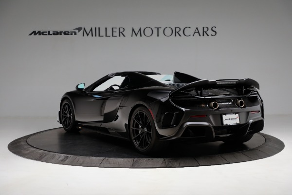Used 2016 McLaren 675LT Convertible for sale Sold at Aston Martin of Greenwich in Greenwich CT 06830 5