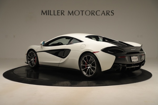 New 2020 McLaren 570S Coupe for sale $215,600 at Aston Martin of Greenwich in Greenwich CT 06830 3