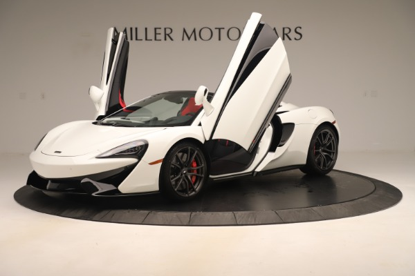 New 2020 McLaren 570S Convertible for sale Sold at Aston Martin of Greenwich in Greenwich CT 06830 13