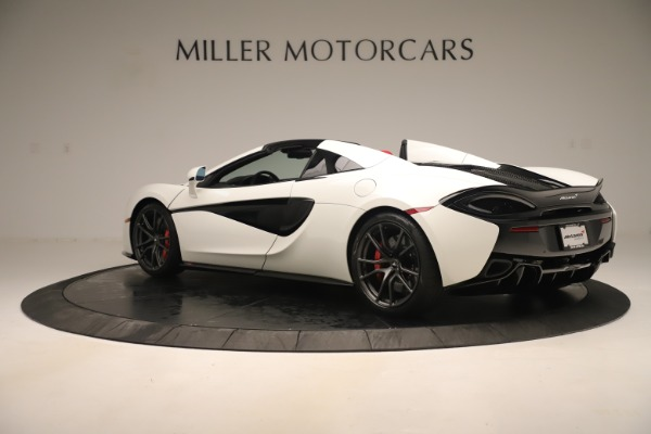 New 2020 McLaren 570S Convertible for sale Sold at Aston Martin of Greenwich in Greenwich CT 06830 3