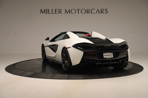 New 2020 McLaren 570S Convertible for sale Sold at Aston Martin of Greenwich in Greenwich CT 06830 4