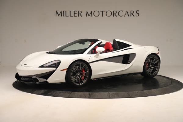 New 2020 McLaren 570S Convertible for sale Sold at Aston Martin of Greenwich in Greenwich CT 06830 1