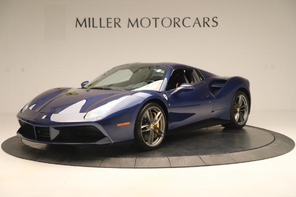 Used 2018 Ferrari 488 Spider for sale $289,900 at Aston Martin of Greenwich in Greenwich CT 06830 13
