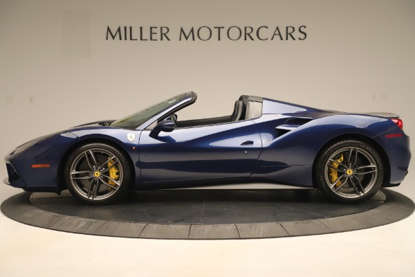 Used 2018 Ferrari 488 Spider for sale $289,900 at Aston Martin of Greenwich in Greenwich CT 06830 3