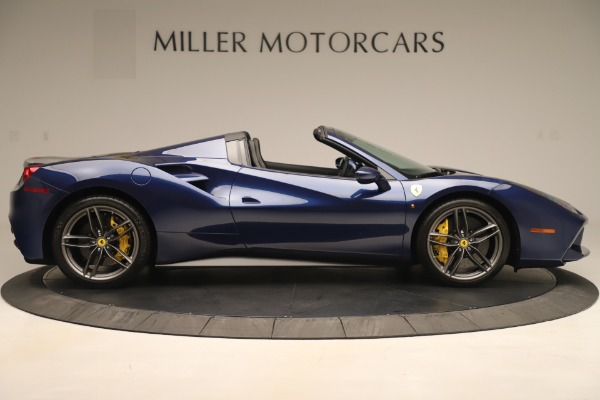 Used 2018 Ferrari 488 Spider for sale $289,900 at Aston Martin of Greenwich in Greenwich CT 06830 9