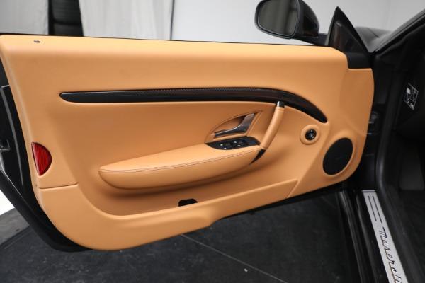 New 2019 Maserati GranTurismo MC Convertible for sale Sold at Aston Martin of Greenwich in Greenwich CT 06830 28