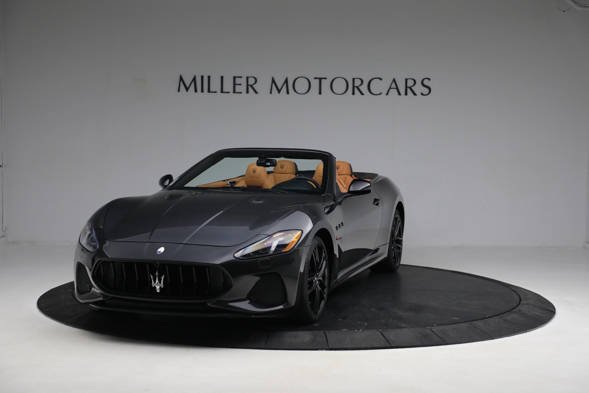 New 2019 Maserati GranTurismo MC Convertible for sale Sold at Aston Martin of Greenwich in Greenwich CT 06830 1
