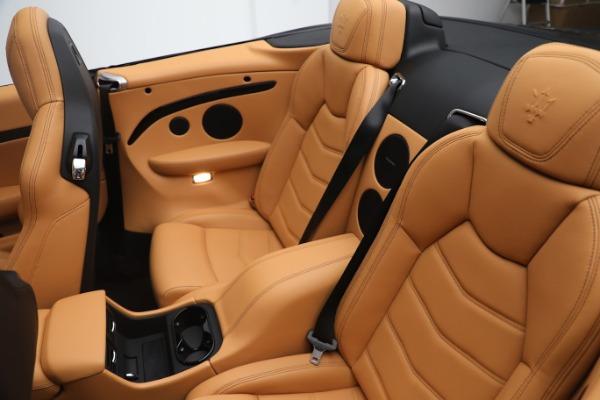 New 2019 Maserati GranTurismo Sport Convertible for sale Sold at Aston Martin of Greenwich in Greenwich CT 06830 22