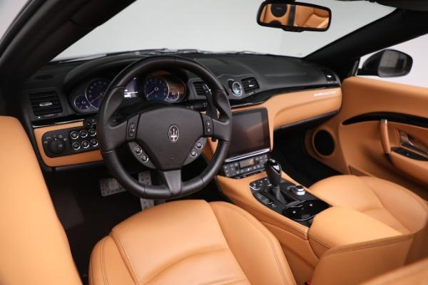 New 2019 Maserati GranTurismo Sport Convertible for sale Sold at Aston Martin of Greenwich in Greenwich CT 06830 24
