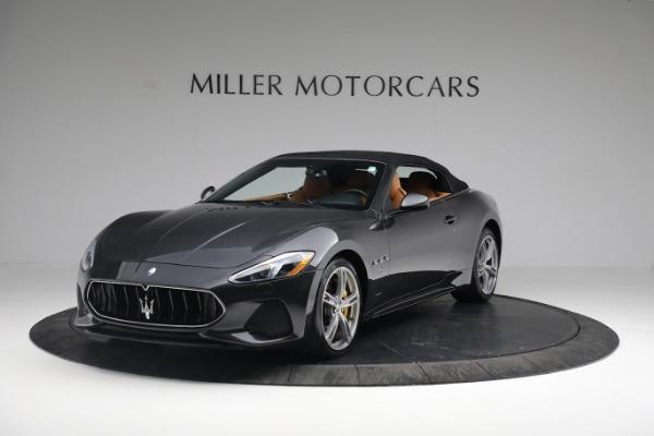 New 2019 Maserati GranTurismo Sport Convertible for sale Sold at Aston Martin of Greenwich in Greenwich CT 06830 1