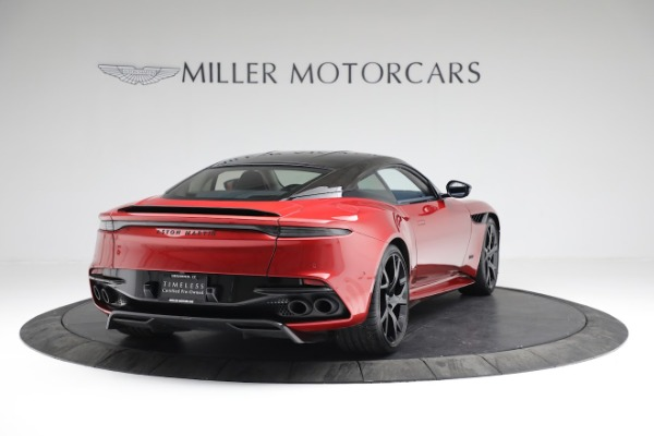 Used 2019 Aston Martin DBS Superleggera for sale Sold at Aston Martin of Greenwich in Greenwich CT 06830 6