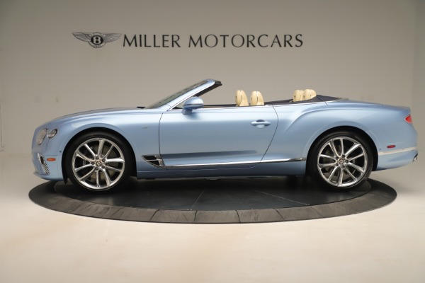 Used 2020 Bentley Continental GTC V8 for sale $288,020 at Aston Martin of Greenwich in Greenwich CT 06830 3
