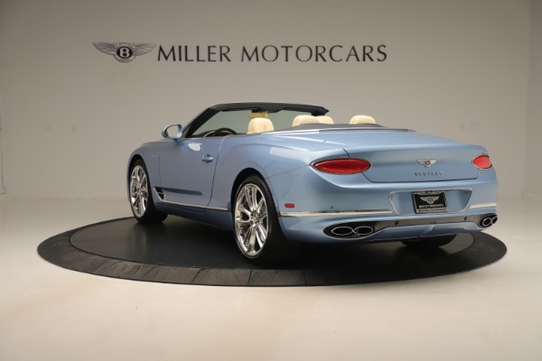Used 2020 Bentley Continental GTC V8 for sale $288,020 at Aston Martin of Greenwich in Greenwich CT 06830 5
