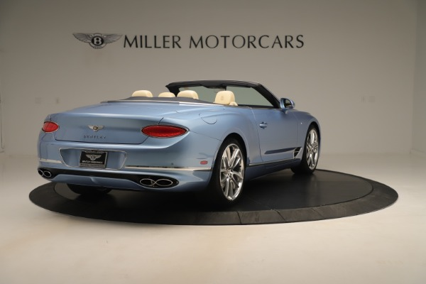 Used 2020 Bentley Continental GTC V8 for sale $288,020 at Aston Martin of Greenwich in Greenwich CT 06830 7