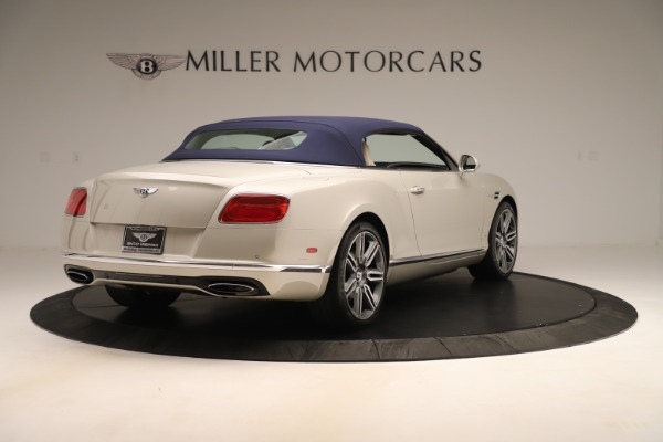 Used 2016 Bentley Continental GTC W12 for sale Sold at Aston Martin of Greenwich in Greenwich CT 06830 17