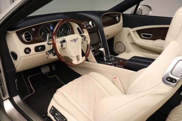 Used 2016 Bentley Continental GTC W12 for sale Sold at Aston Martin of Greenwich in Greenwich CT 06830 23
