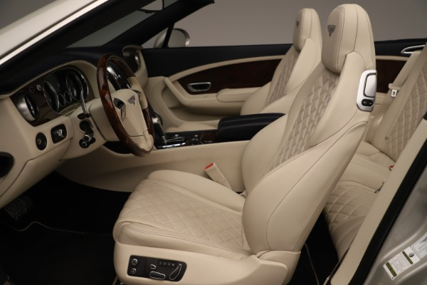 Used 2016 Bentley Continental GTC W12 for sale Sold at Aston Martin of Greenwich in Greenwich CT 06830 24