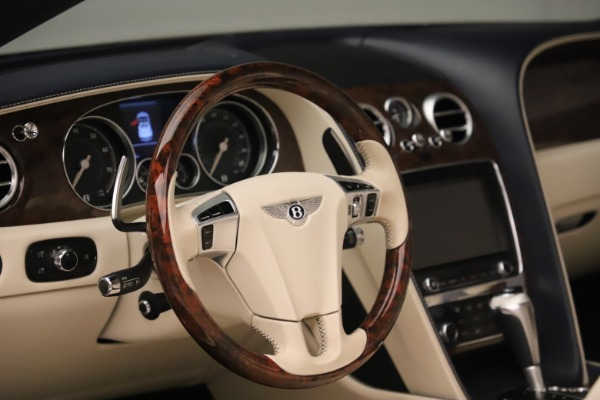 Used 2016 Bentley Continental GTC W12 for sale Sold at Aston Martin of Greenwich in Greenwich CT 06830 27