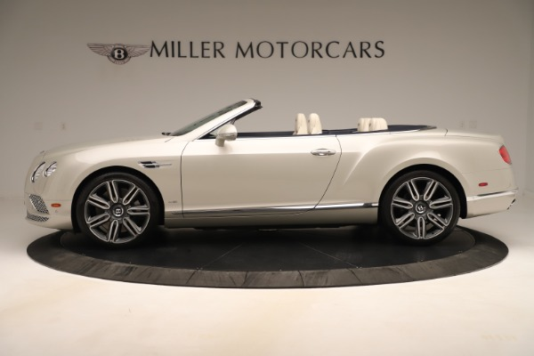Used 2016 Bentley Continental GTC W12 for sale Sold at Aston Martin of Greenwich in Greenwich CT 06830 3