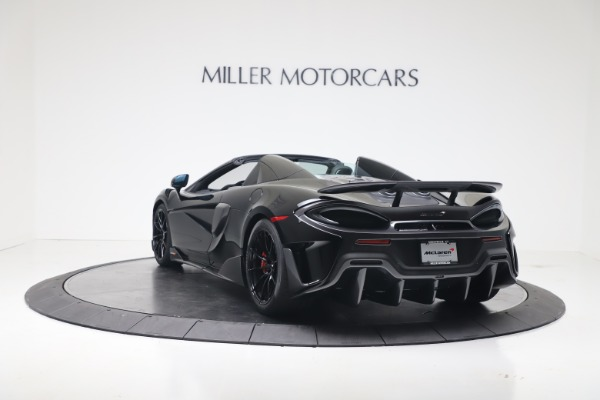 New 2020 McLaren 600LT SPIDER Convertible for sale Sold at Aston Martin of Greenwich in Greenwich CT 06830 10