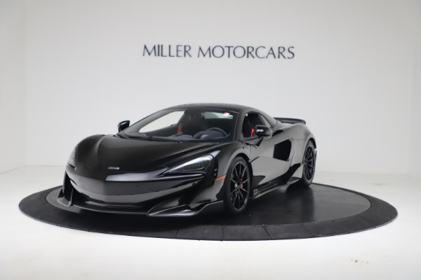 Used 2020 McLaren 600LT Spider for sale $249,900 at Aston Martin of Greenwich in Greenwich CT 06830 11