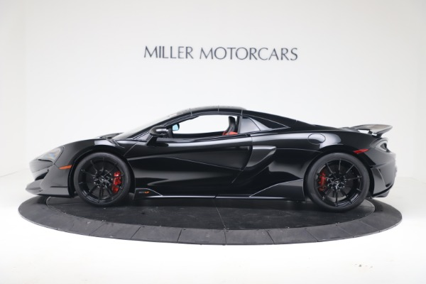 Used 2020 McLaren 600LT Spider for sale $249,900 at Aston Martin of Greenwich in Greenwich CT 06830 12