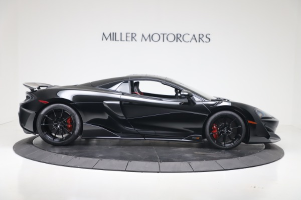 New 2020 McLaren 600LT SPIDER Convertible for sale Sold at Aston Martin of Greenwich in Greenwich CT 06830 15
