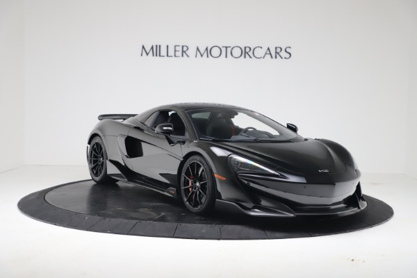 New 2020 McLaren 600LT SPIDER Convertible for sale Sold at Aston Martin of Greenwich in Greenwich CT 06830 16