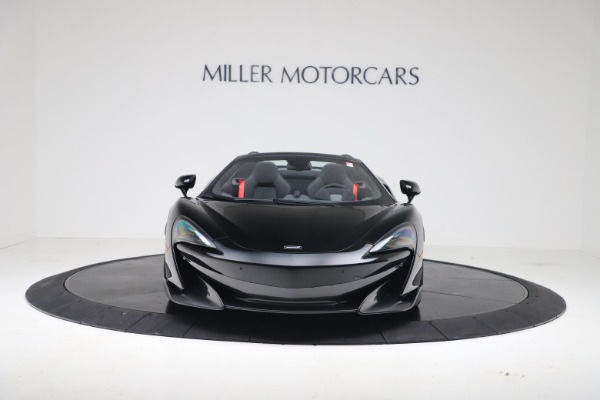 New 2020 McLaren 600LT SPIDER Convertible for sale Sold at Aston Martin of Greenwich in Greenwich CT 06830 3