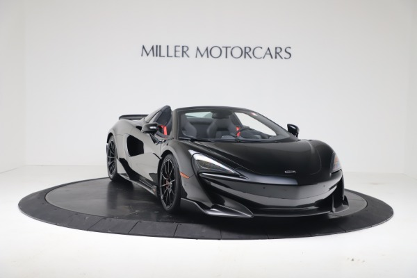 Used 2020 McLaren 600LT Spider for sale $249,900 at Aston Martin of Greenwich in Greenwich CT 06830 4