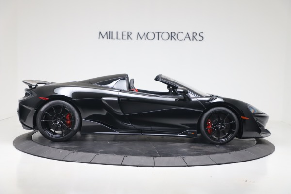 New 2020 McLaren 600LT SPIDER Convertible for sale Sold at Aston Martin of Greenwich in Greenwich CT 06830 6