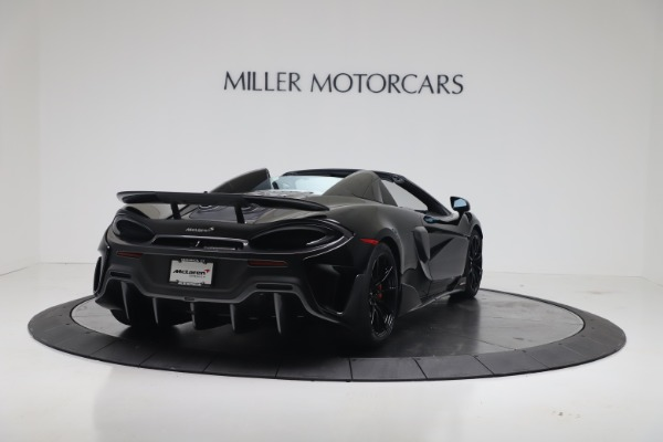 Used 2020 McLaren 600LT Spider for sale $249,900 at Aston Martin of Greenwich in Greenwich CT 06830 8