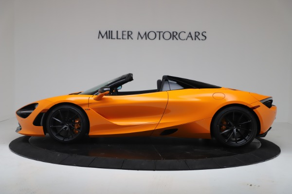 New 2020 McLaren 720S Spider Convertible for sale $374,440 at Aston Martin of Greenwich in Greenwich CT 06830 3