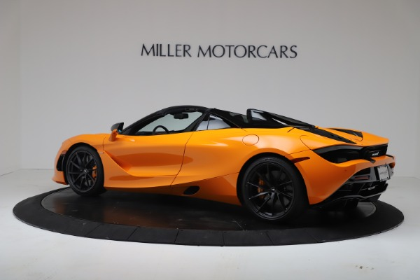 New 2020 McLaren 720S Spider Convertible for sale $374,440 at Aston Martin of Greenwich in Greenwich CT 06830 4
