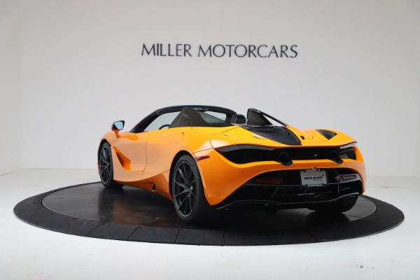 New 2020 McLaren 720S Spider Convertible for sale $374,440 at Aston Martin of Greenwich in Greenwich CT 06830 5