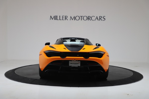 New 2020 McLaren 720S Spider Convertible for sale $374,440 at Aston Martin of Greenwich in Greenwich CT 06830 6