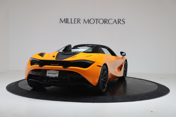New 2020 McLaren 720S Spider Convertible for sale $374,440 at Aston Martin of Greenwich in Greenwich CT 06830 7