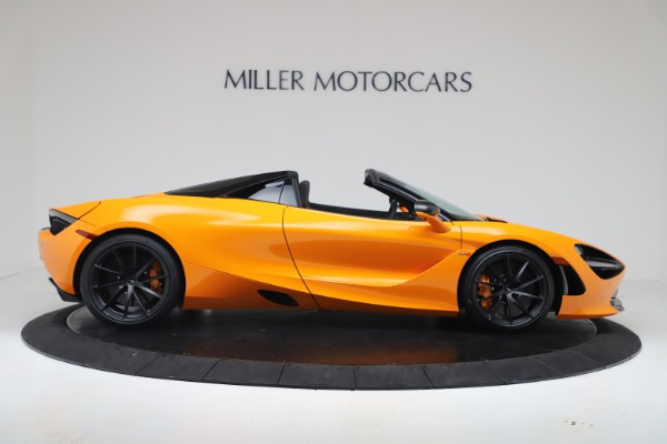 New 2020 McLaren 720S Spider Convertible for sale $374,440 at Aston Martin of Greenwich in Greenwich CT 06830 9