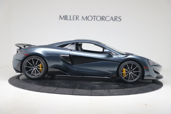New 2020 McLaren 600LT SPIDER Convertible for sale Sold at Aston Martin of Greenwich in Greenwich CT 06830 17