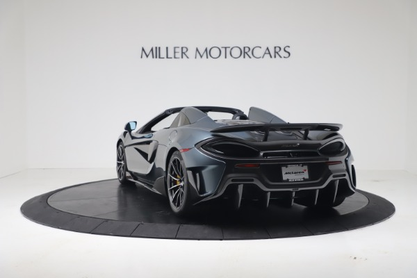 New 2020 McLaren 600LT SPIDER Convertible for sale Sold at Aston Martin of Greenwich in Greenwich CT 06830 4