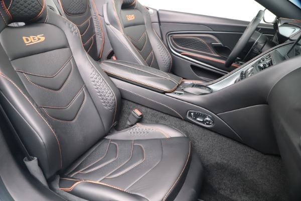 New 2020 Aston Martin DBS Superleggera Volante Convertible for sale Sold at Aston Martin of Greenwich in Greenwich CT 06830 23