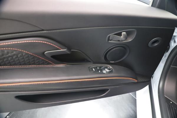 New 2020 Aston Martin DBS Superleggera Volante Convertible for sale Sold at Aston Martin of Greenwich in Greenwich CT 06830 28